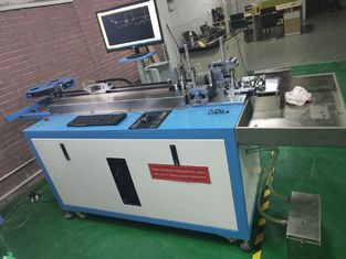 China Power 2.2kw Steel Rule Die Bender , Letter Bending Machine 120 Max Angle supplier